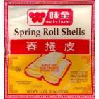 WEI-CHUAN - SPRING ROLL SHELLS (11OZ)