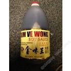 金味王 - 纯酿酱油 / 1 加仑