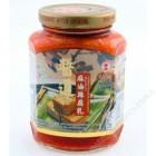 台湾产 华南酱道 - 麻油辣腐乳(369克)
