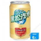 黑松 - 沁凉香槟口味 汽水 / 半打 ( 6 罐 )