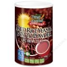 台湾产 欣园阳光谷绿 - 红曲纳豆粉 无糖添加 粉末精装罐 (500克)
