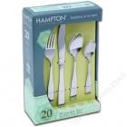 汉普顿 - 西餐具 5件套(20件 共4套)
