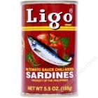 LIGO - 番茄汁辣味沙丁鱼(罐)